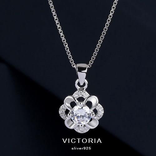 S925銀 優雅的名媛氣質大方設計感 項鍊-維多利亞1612168