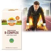 【南紡購物中心】《Sundown》緩釋型超級B群+C錠(B12加強配方)(100錠/瓶) 一入