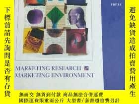 二手書博民逛書店MARKETING罕見RESEARCH MARKETING EN