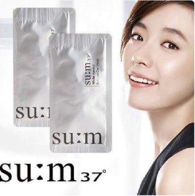 韓國LG旗下品牌之SUM37°呼吸氧氣 泡泡面膜 毛孔清潔面膜