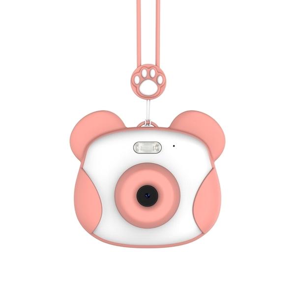 【保固一年】原創 bluemo 熊貓 1200萬像素 防摔兒童相機 數位相機 前後雙鏡頭 迷你相機 玩具