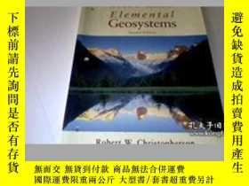 二手書博民逛書店Elemental罕見Geosystems- 素地球系統Y436638 Christopherson Pren