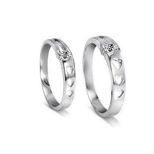 925純銀戒指 愛的表白