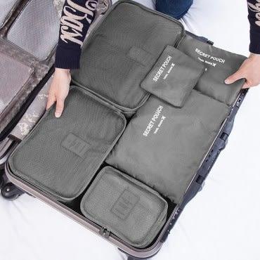 買一組送一組 SUNTYIBE 輕旅行收納袋 6件組-淺藍+綠