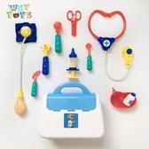 美國cikoo高品質仿真醫生玩具兒童過家家角色扮演打針玩具聽診器