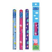 粉紅豬小妹3入學前木頭鉛筆【愛買】