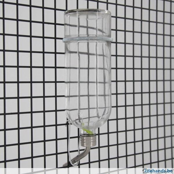 立可吸 GB-26 鳥鼠兔玻璃飲水瓶 寵物防啃咬飲水瓶 玻璃鋼珠瓶 大尺寸 美國寵物第一品牌LIXIT®