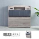 【時尚屋】[5V21]凱爾3.5尺床頭箱5V21-KR005-免運費/免組裝/床頭箱