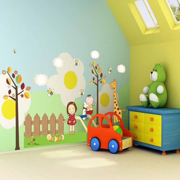 Loxin【YP1655】創意可移動壁貼 牆貼 背景貼 壁貼樹 小夥伴