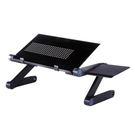 鋁合金床上電腦桌/加長散熱孔帶滑鼠臺