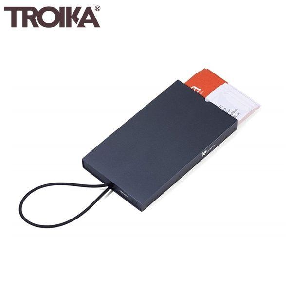 又敗家@德國TROIKA防盜信用卡盒CCC10防感應卡夾防盜刷卡夾防RFID-NFC側錄多功能卡夾隨身卡匣名片夾