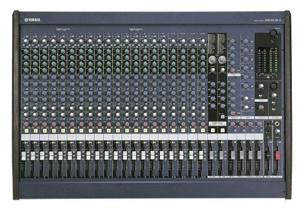 ﹝〝漢視科 技〞﹞舞台音響 YAMAHA MG24/14FX 功率混音器 混音機.廣播主機. 舞台擴大機
