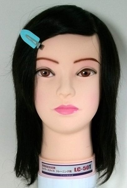 考試用日本假人頭  LC50T  仿真髮一根一根製作      日本原裝進口
