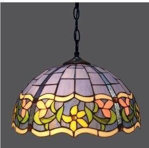 設計師美術精品館蒂芙尼燈飾燈具大吊燈 蒂凡尼彩色玻璃吊燈 客廳臥室餐廳別墅用燈