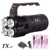 TX特林美國CREE LED四燈強亮探照燈(t-4D3000)