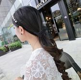 新品珍珠蕾絲飄帶細髮箍頭箍髮卡蝴蝶結髮帶頭飾髮飾品    芊惠衣屋