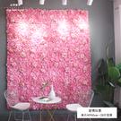 成品仿真花墻背景墻 室內客廳仿真花墻裝飾直播間背景墻花墻裝飾 8號店WJ