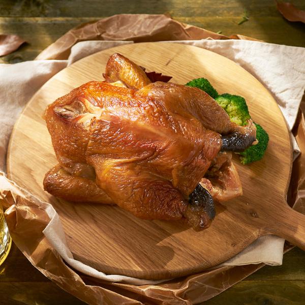 龍眼木燻雞全雞