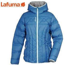 丹大戶外用品 法國【Lafuma】LD WARM'N'LIGHT女款保暖羽絨夾克連帽外套LFV9806-6547 珊瑚藍