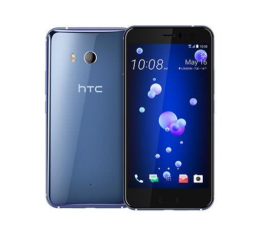 【買二送一】展示機  HTC U11 4G/64G (銀藍)  + 鐵鈽釤鋼化玻璃貼 / 贈機身背蓋保護膜