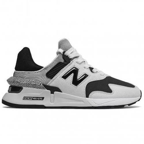 New Balance 997 女鞋 休閒 麂皮 織物 ENCAP REVEAL 黑 白【運動世界】WS997JCF