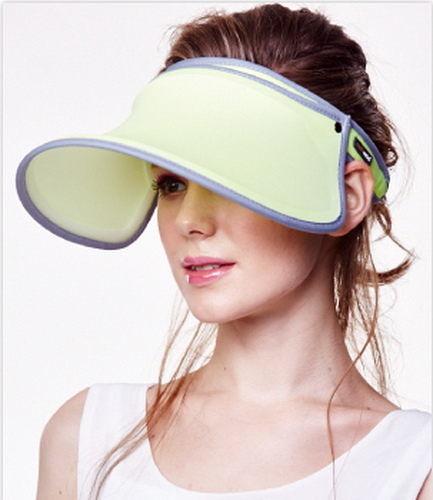 SUNSOUL/HOII/后益---新光感(防曬光能布)---伸縮艷陽帽 UPF50+ 黃光(脈衝光防曬遮陽帽)