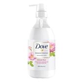 多芬日本植萃沐浴乳-粉玫瑰光滑水潤500g【愛買】