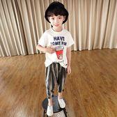 【雙十二】秒殺米西果夏季兒童男童短袖t恤純棉2018夏裝新款中大童 童裝體恤潮裝gogo購