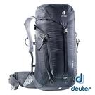 【德國 deuter】TRAIL 輕量拔熱 透氣背包30L『黑』3440521 登山.露營.後背包.手提包.雙肩背包.旅遊