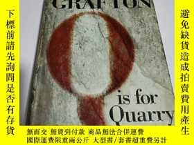 二手書博民逛書店SUE罕見GRAFTON Q is for Quarry(英文)