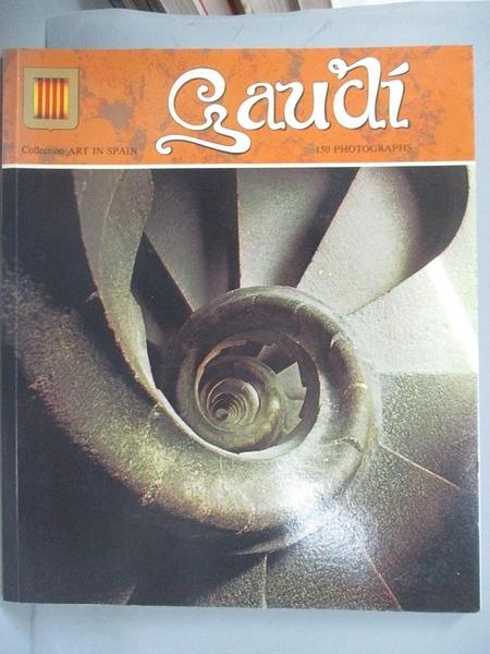 【書寶二手書T4/藝術_XAT】Gaudí_[text by Salvador Tarragó]