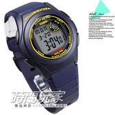 F-200W-2B 卡西歐 CASIO 電子錶 藍黃配色 深藍色橡膠 39mm 男錶 時間玩家 F-200W-2BDF