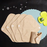 Lohogo 布衛生護墊 S-5片/有機環保可洗護墊(小號18cm)環保可重覆使用 Lohogo樂馨生活館推薦