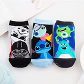 迪士尼好朋友色塊直版親子襪-史迪奇/怪獸大學/星際大戰 童襪 襪子