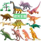 十二生肖玩具 動物模型12生肖仿真小恐龍兒童玩具塑膠侏羅紀套裝 晴天時尚館