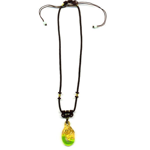 居家開運水晶琉璃項鍊~螭琥〈又稱貔貅〉 附精美包裝◆免運費送到家