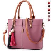 女斜側背包 OL通勤手提包《印象精品》b1095