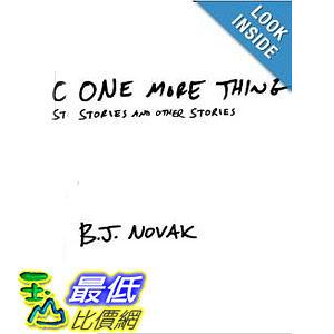 【103玉山網】 2014 美國銷書榜單 One More Thing: Stories and Other Stories   $882