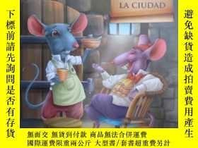 二手書博民逛書店西班牙文童話罕見El RATÓN DEL CAMPO Y EL