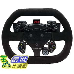 (美國官網代訂) Fanatec ClubSport steering wheel Flat 1 Xbox One方向盤面