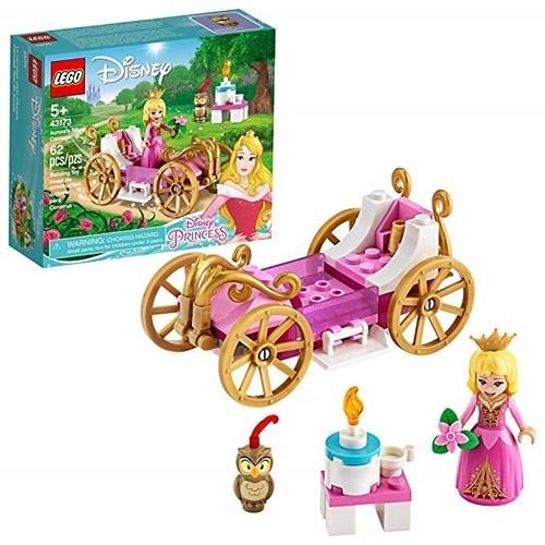 LEGO 樂高 Disney Aurora s Royal Carriage 43173 創意公主 (62 件)