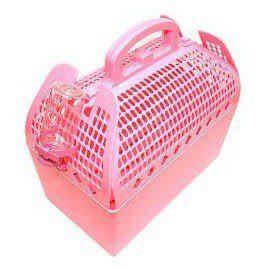 【培菓平價寵物網】暖色系外提籃寵物籠(瘋了-比大賣場便宜)
