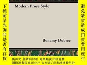 二手書博民逛書店Modern罕見Prose StyleY256260 Bonamy Dobree Pickard Press
