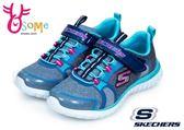 skechers 童運動鞋 記憶鞋墊 SPEED TRAINER 中大童 訓練鞋O8269#水藍◆OSOME奧森童鞋/小朋友