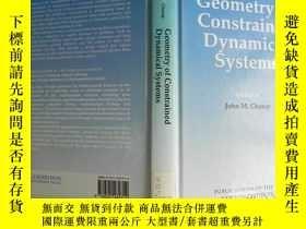 二手書博民逛書店Geometry罕見of Constrained Dynamic