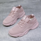 椰子鞋 運動鞋女鞋網面透氣網鞋2020年新款春季百搭老爹ins潮鞋跑步鞋子 朵拉朵YC