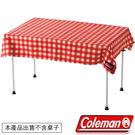 Coleman CM-26878-紅 格紋桌布(桌巾)/110公司貨