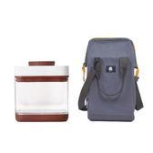 《iroda》配件包套組 O-Grill Live Flame-Shield 時尚立體包燈袋 / ANKOMN Savior 真空保鮮盒 1.5L