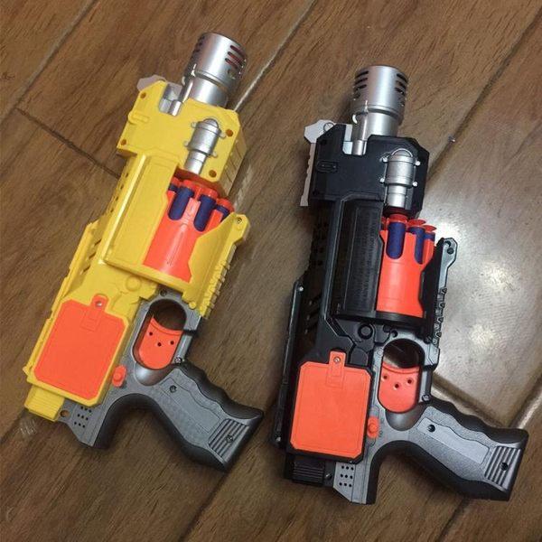 玩具槍 電動連發軟彈槍可發射軟子彈3-14歲兒童吸盤槍手槍小孩玩具男孩槍T