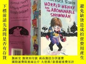 二手書博民逛書店horrid罕見henry and the abominable snowman: 可怕的亨利和可惡的雪 人. .